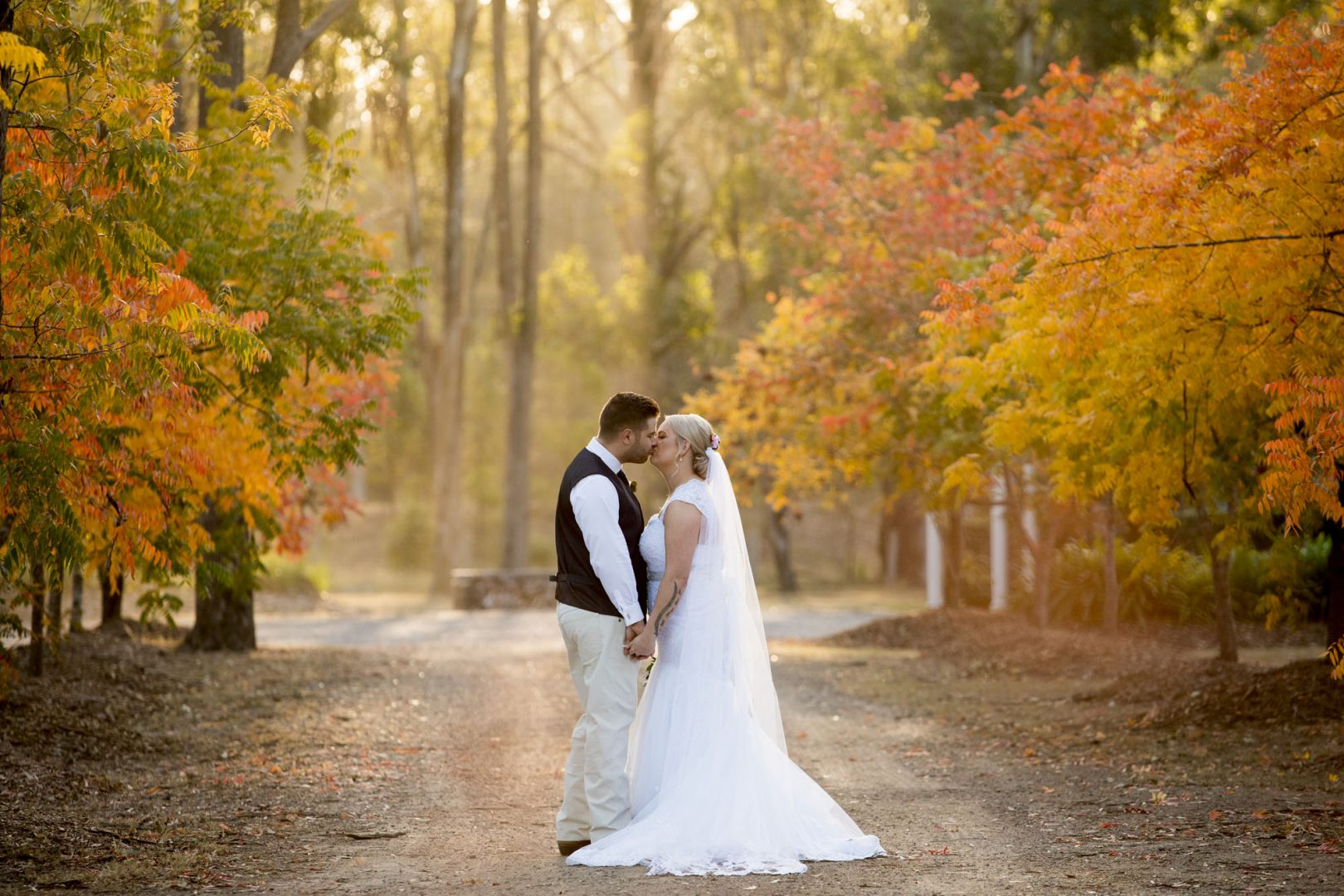 Sarah and Hayden - Autumn Wedding 3L Photography